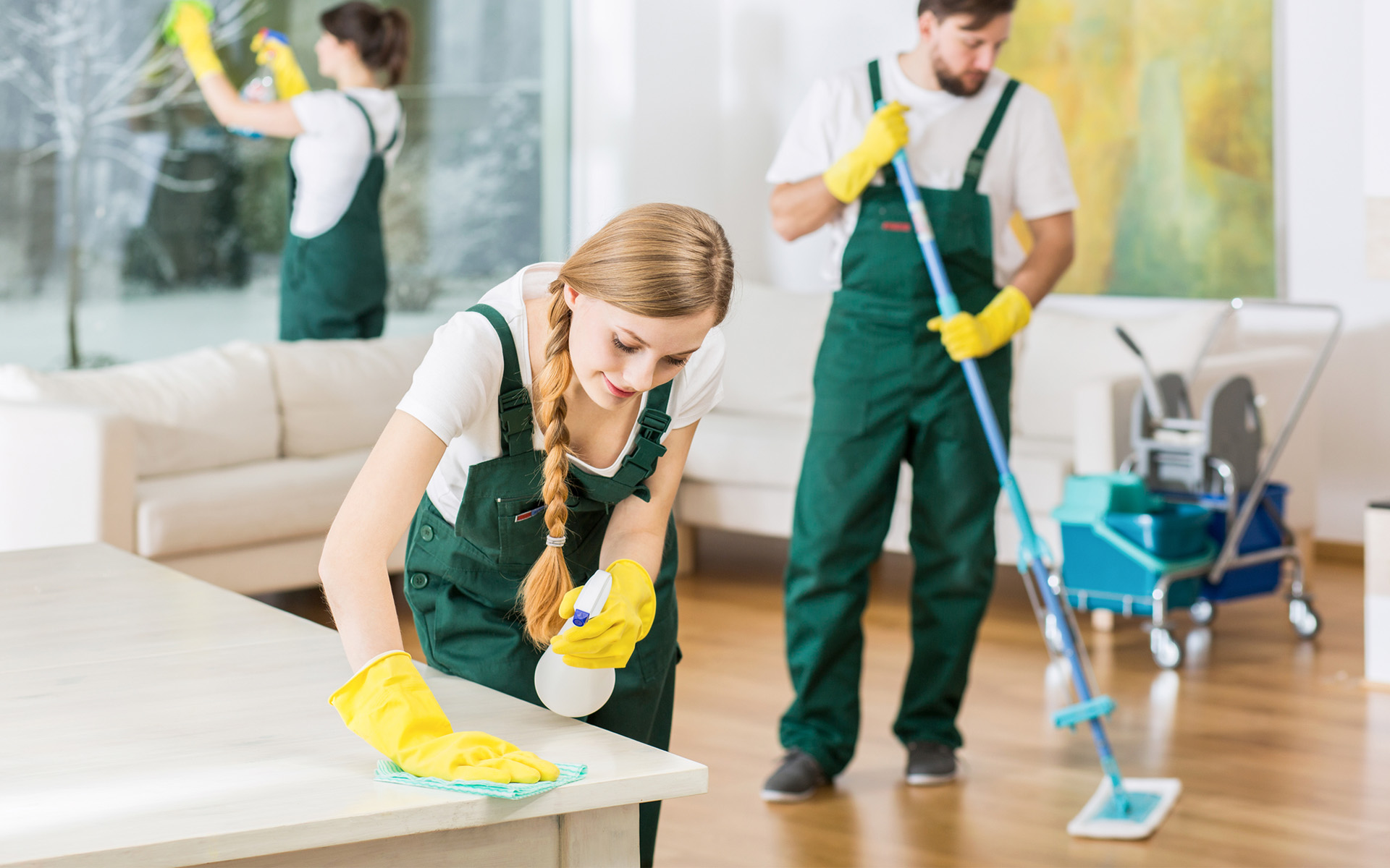 EUROPEAN CLEANING  -  IMPRESA DI PULIZIE
