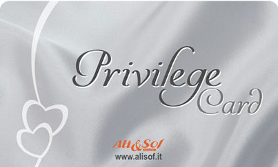 Ali&Sof Viaggi - Privilege Card