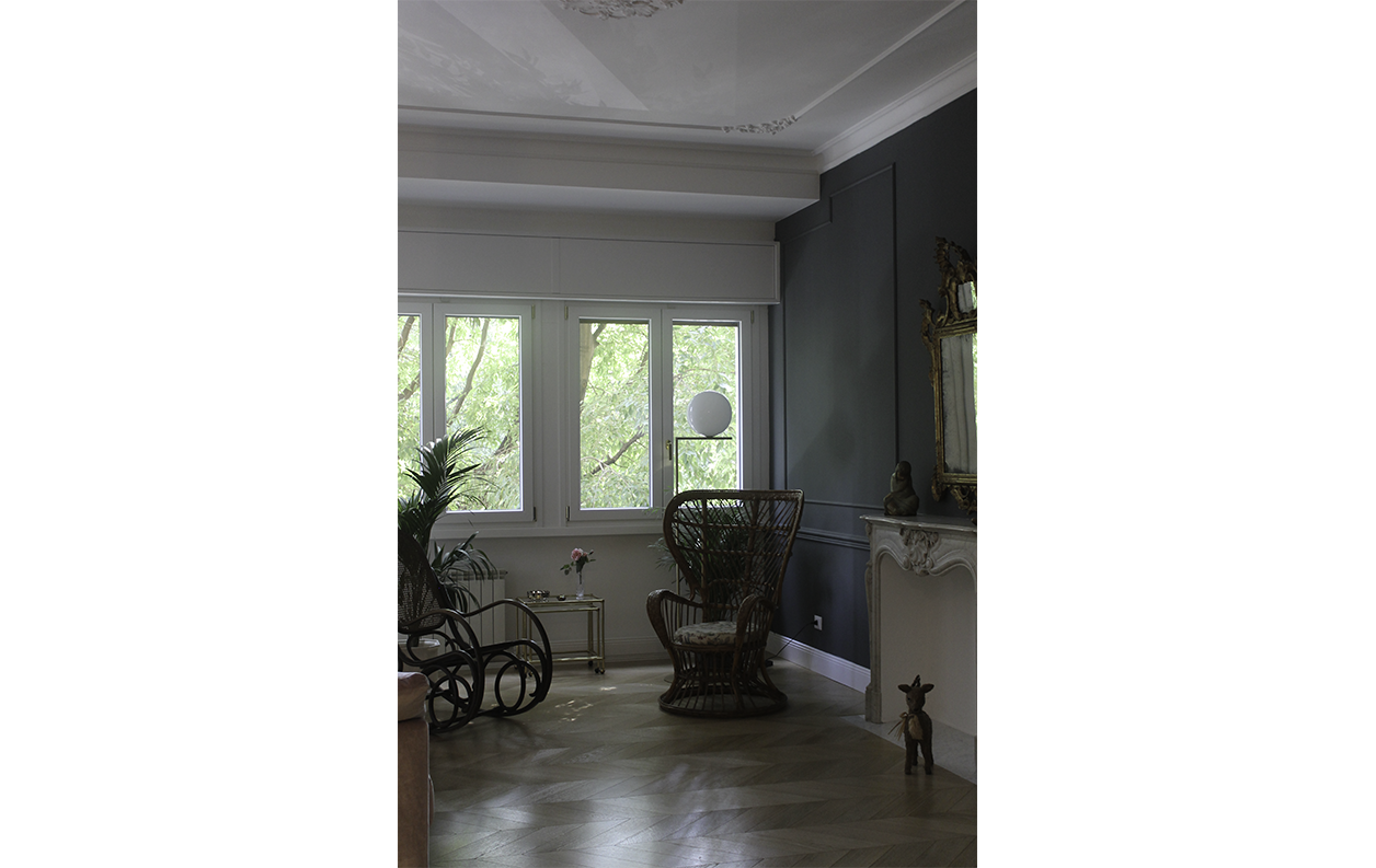 Claudia Anna Secchi  Architetto Milano - Abitazione privata a Milano Haussman style