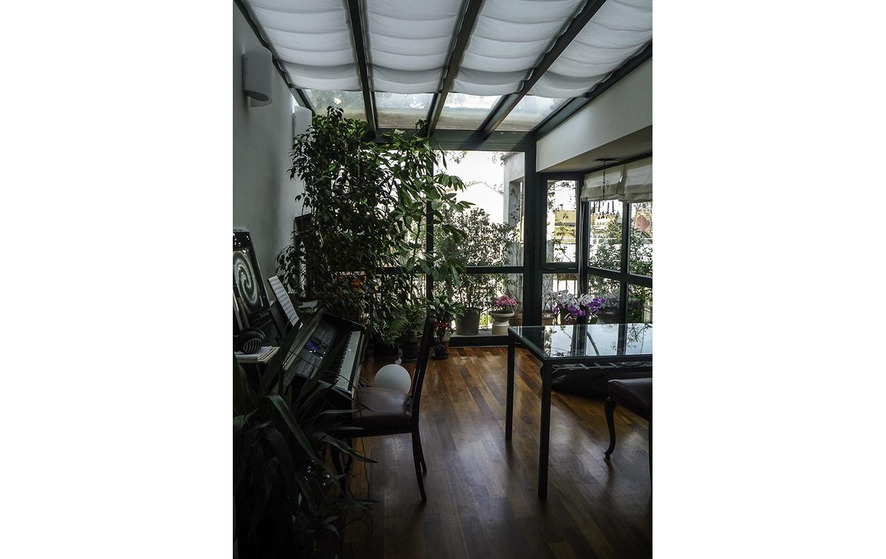 Claudia Anna Secchi  Architetto Milano - Abitazione privata con giardino d'inverno a Milano