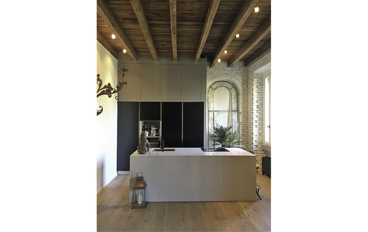 Claudia Anna Secchi  Architetto Milano - Abitazione di un collezionista a Milano