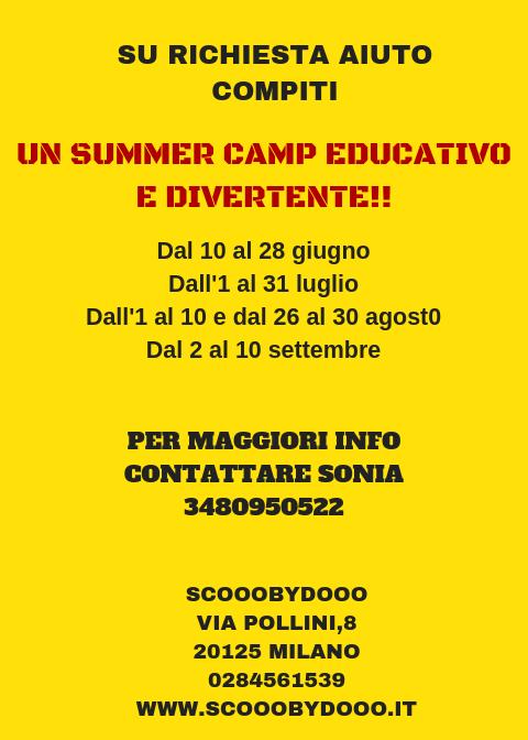 asilo Scooobydooo - Easter Camp 2019