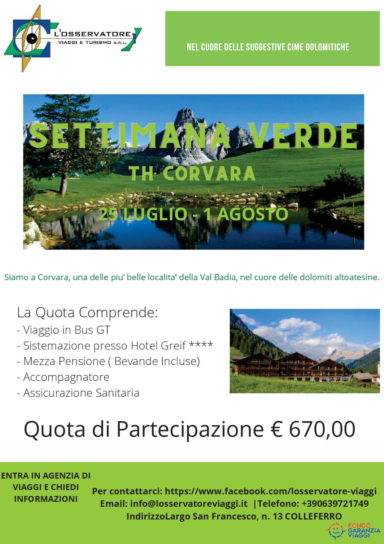 Corvara - Montagna estiva 2021