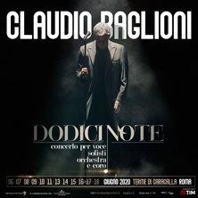 Concerto di Claudio Baglioni - Giovedì 18 Giugno 2020