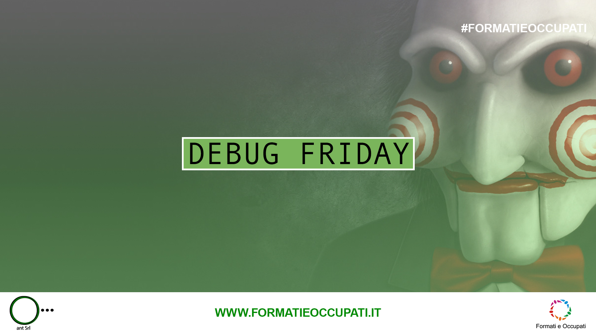 DEBUG FRIDAY del 15 Settembre
