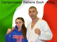 Sofia - campionessa italiana EsoA 2015