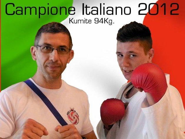 Jonathan- campione italiano 2012.