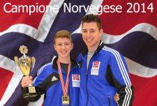 Jonathan e Kenneth- Campioni Norvegesi 2014