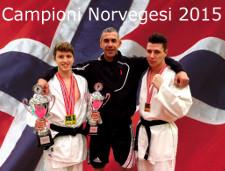 Jonathan e Kenneth- Campioni Norvegesi 2015