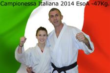 Lucrezia- Campionessa Italiana EsoA 2014