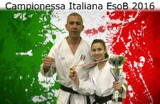 Lucrezia - campionessa italiana EsoB 2016