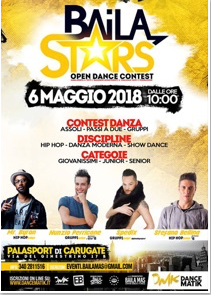 Baila Star Open Dance Competition