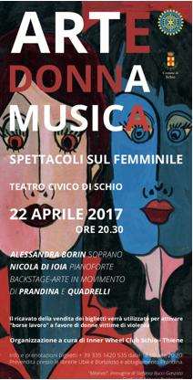 Arte Donna Musica, spettacoli sul femminile