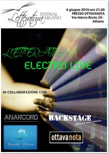 LETTERATURA Electro Live
