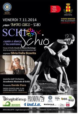 SchioxSchio - Canto e danza si incontrano