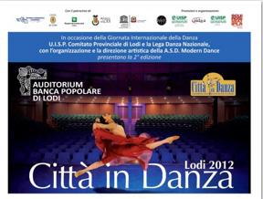 Città in danza - Lodi 2012