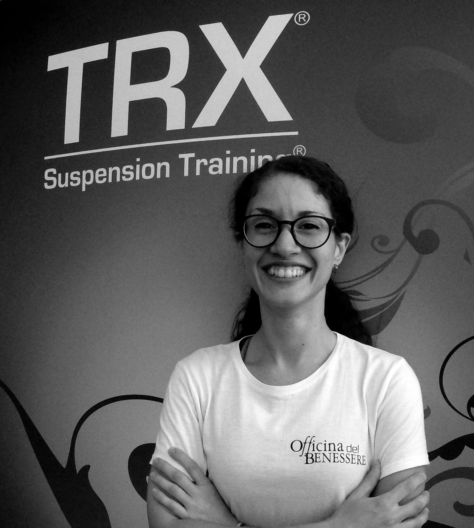 CHIARA CANOCI Scienze Motorie Personal trainer Istruttrice sala Istruttrice corso Jump Rope e corsi fitness