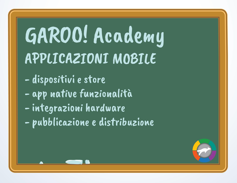 GAROO!ACADEMY conosciamo meglio il mondo delle App