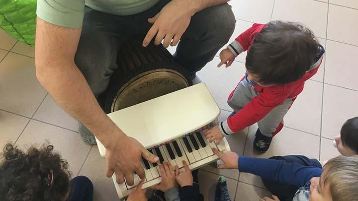 Le Coccole - Musicoterapia