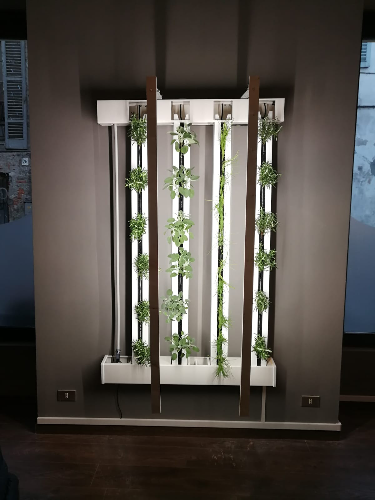 ZipGrow TM 4 Tower Farm Wall 5'