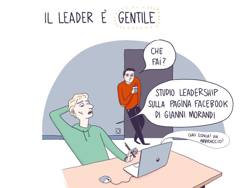 Gentilezza, l'arma segreta del leader