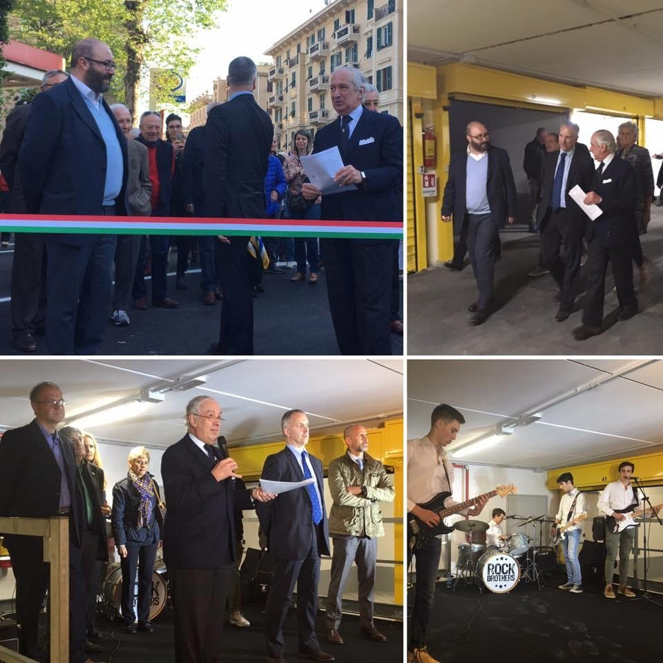 INAUGURATI I BOX IN VIA MONTE ZOVETTO