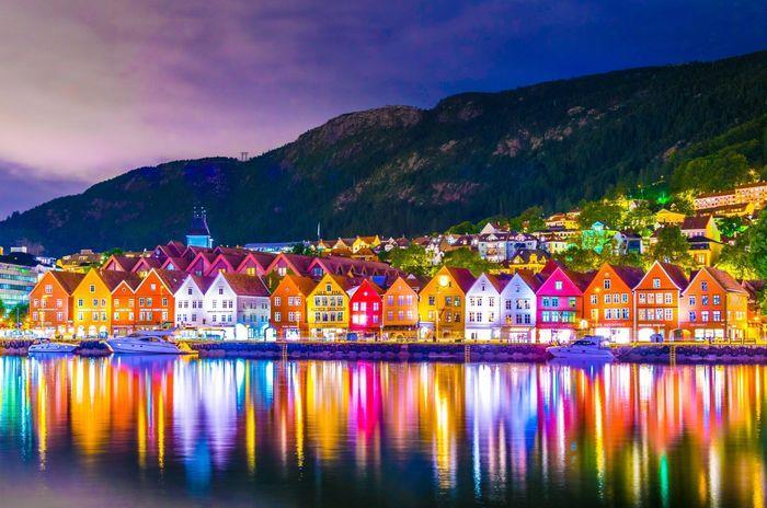 Viaggi in Norvegia, Vernissage