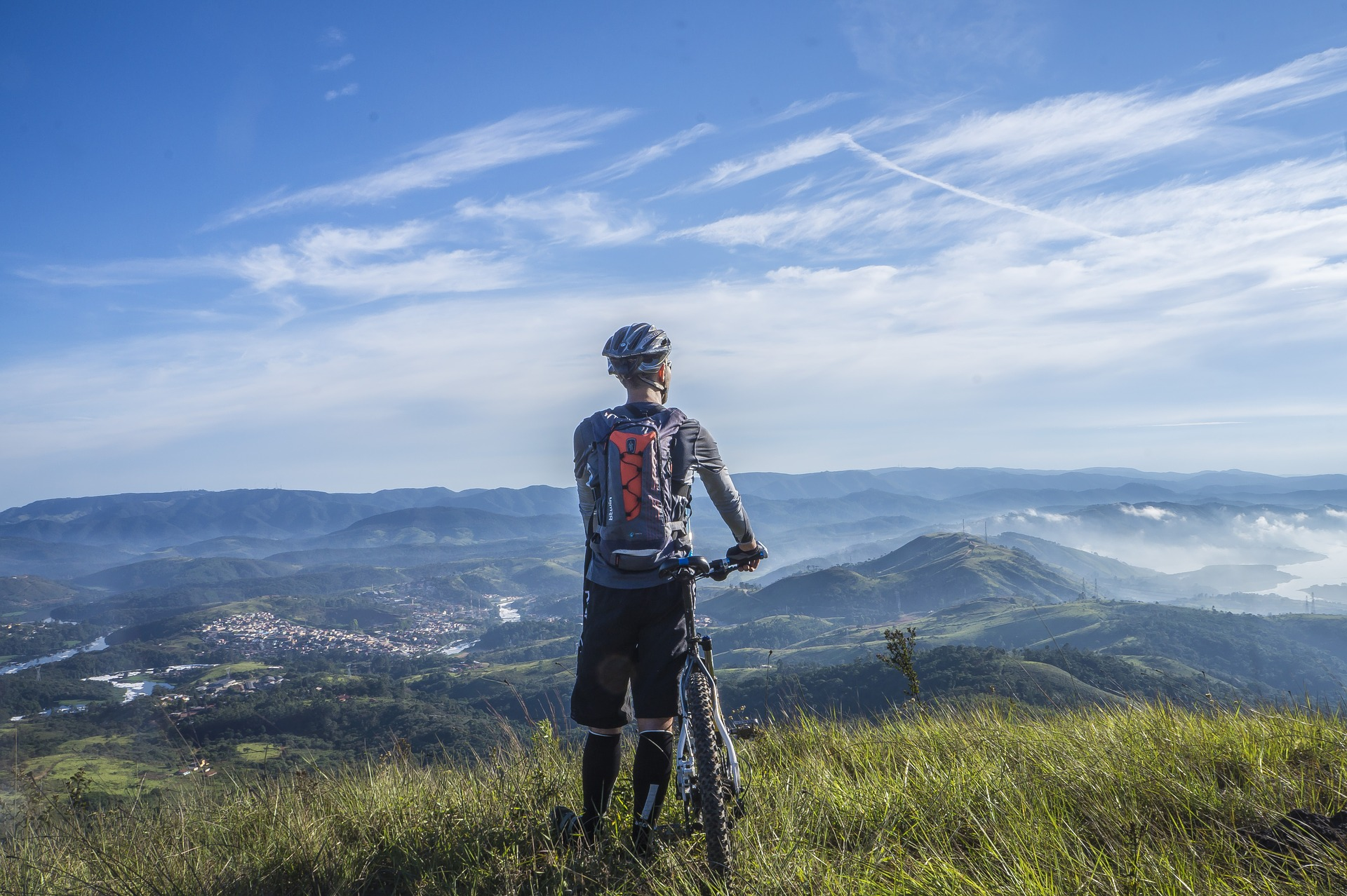 Mountain Bike Sul Lago Di Varese