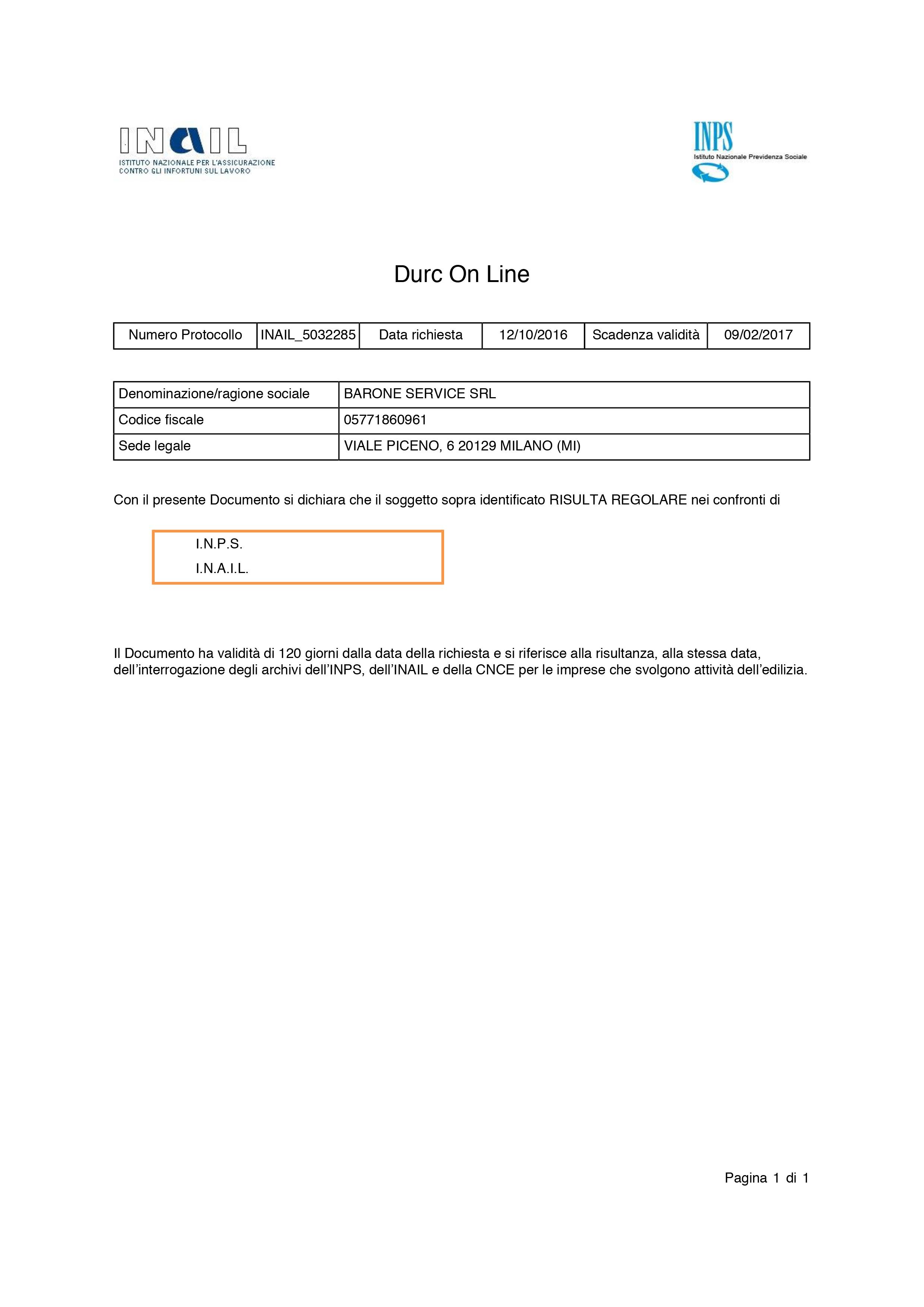 Certificazione dei sistemi