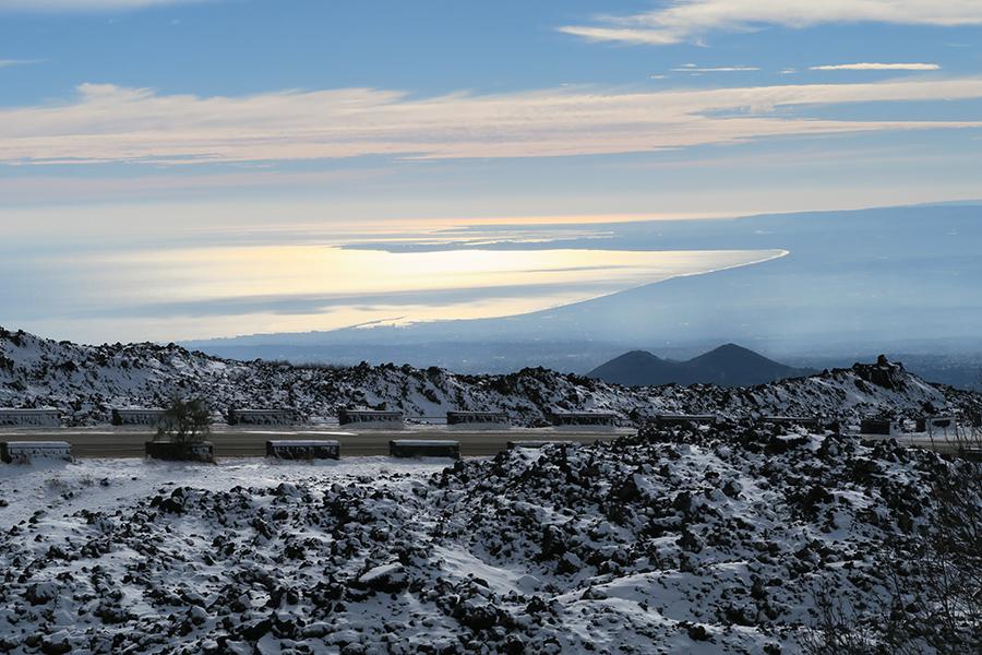 L'Etna dà i numeri
