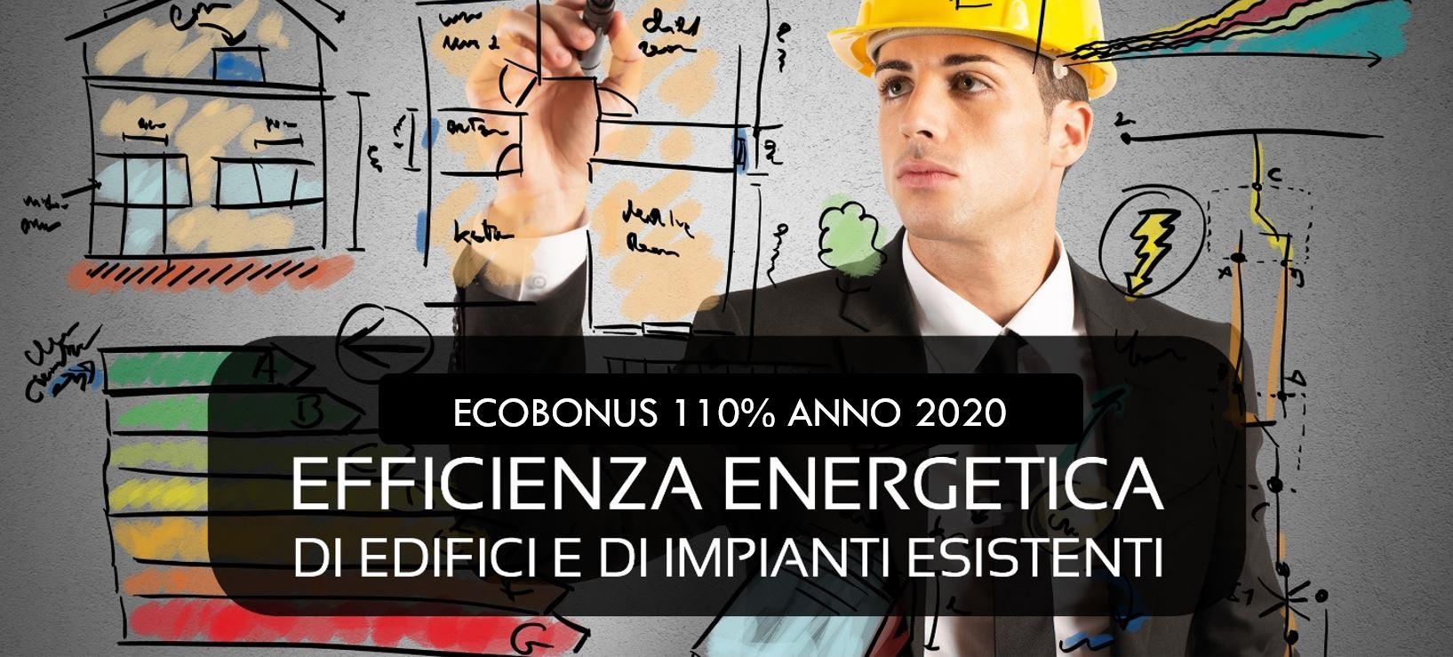 Ecobonus 110% per l'efficientamento energetico