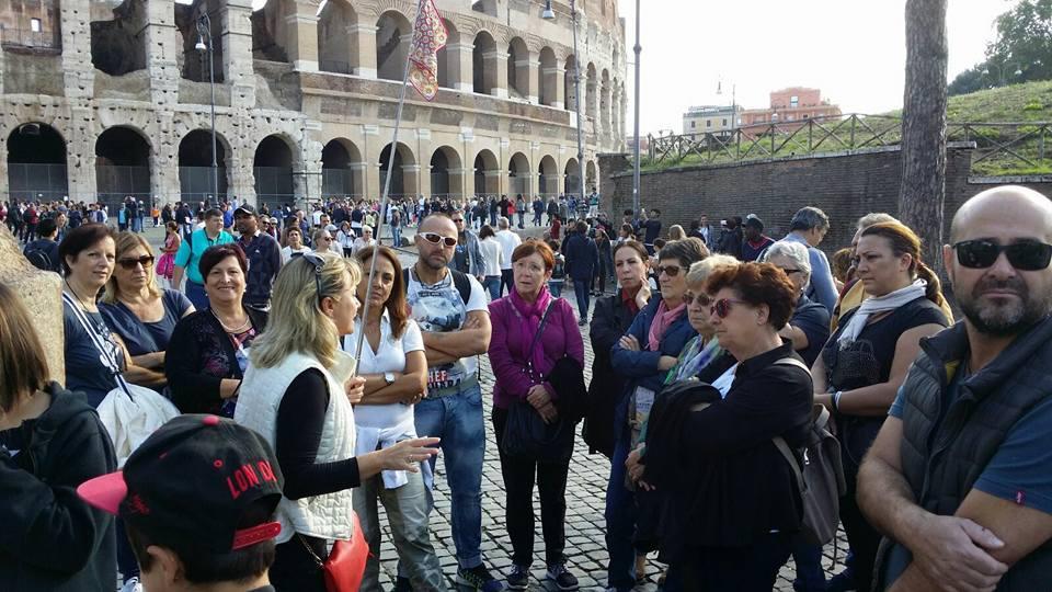 Giridipeppisti sui colli di Roma