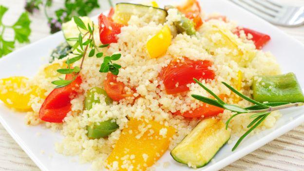 Cous cous con verdure di stagione