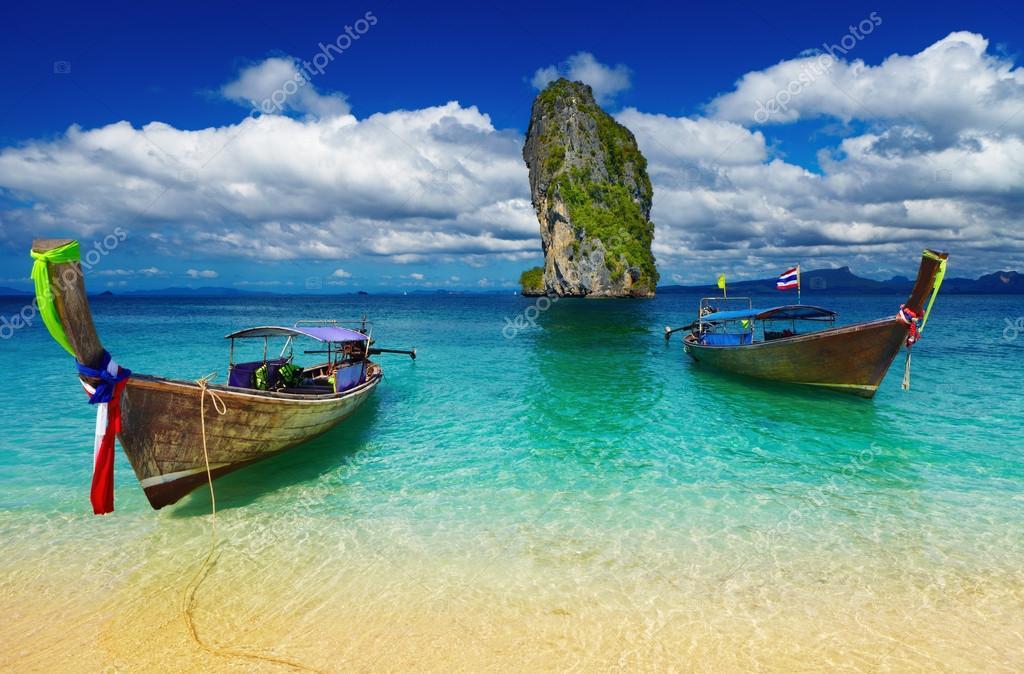 Le spiagge bianche della THAILANDIA