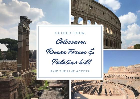 Colosseum, Palatine, Roman Forum
